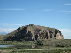 North promontory of Beaverhead Rock